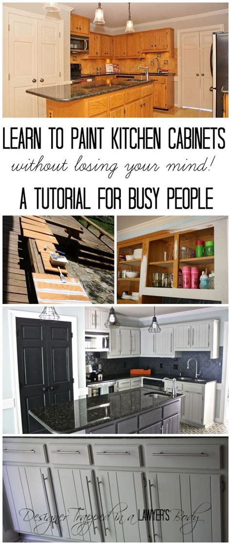 how to paint kitchen cabinets without sanding no sanding cabinets and tutorials on pinterest