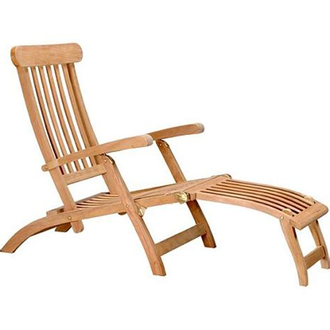 Teak Steamer Chair by D Collection Teak Steamer Lounge Chair Reviews Wayfair
