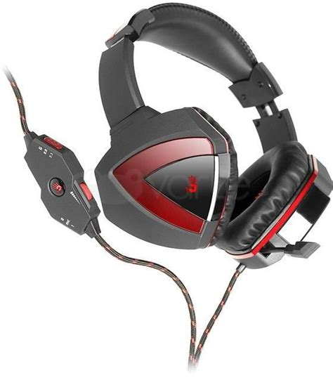 Bloody Radar 71 Gaming Headset G501 Hitam ausinės a4 tech a4tech gaming headset bloody g501 combat gaming headset compatible with pc and