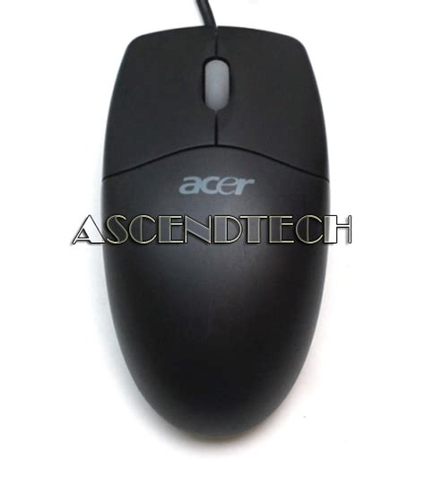 Mouse Acer Original Netscroll Acer Netscroll Black Grey Ps 2 Mouse