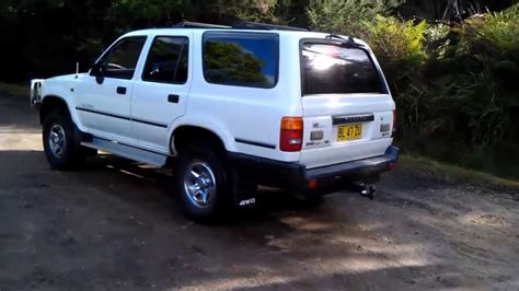 1991 Toyota 3 0 V6 1991 Toyota 4runner Sr5 3 0 V6 Limited Edition