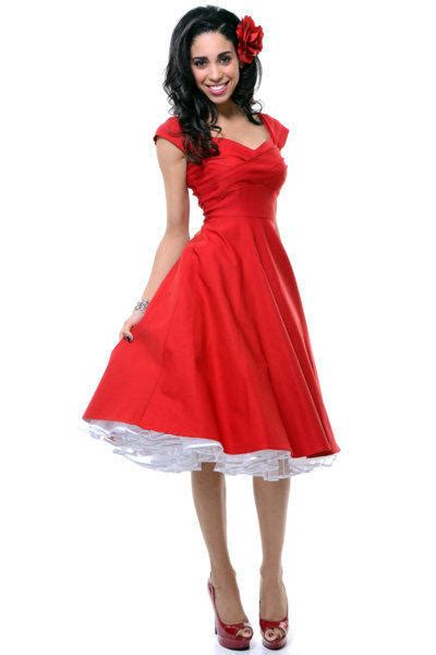 unique vintage swing dress stop staring mad men red pleated bodice from unique vintage