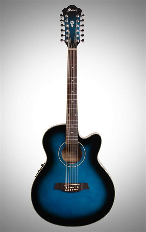 Guitar Gitar ibanez ael1512e acoustic electric guitar 12 string