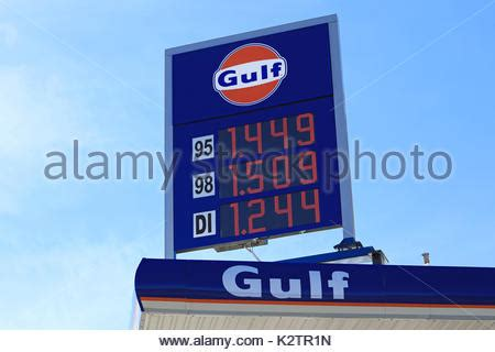 gulf petrol station unleaded and diesel same price per