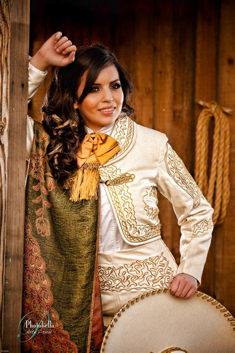 mariachi hairstyles blanca marin charro outfit quinceanera photography