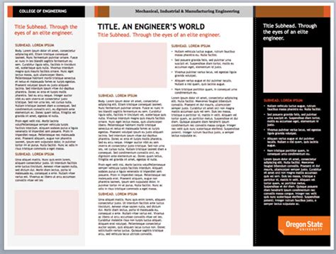 Oregon State Powerpoint Template Yasnc Info Oregon State Powerpoint Template