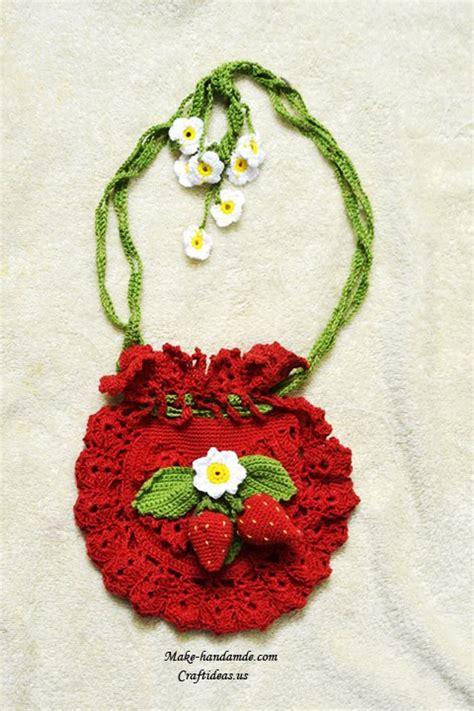 free crochet pattern strawberry bag free crochet pattern strawberry bag manet for
