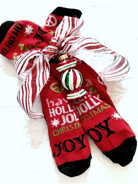 christmas sock exchange ideas sock exchange patina and paint