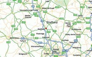 stafford map waste vegetable collections in stafford