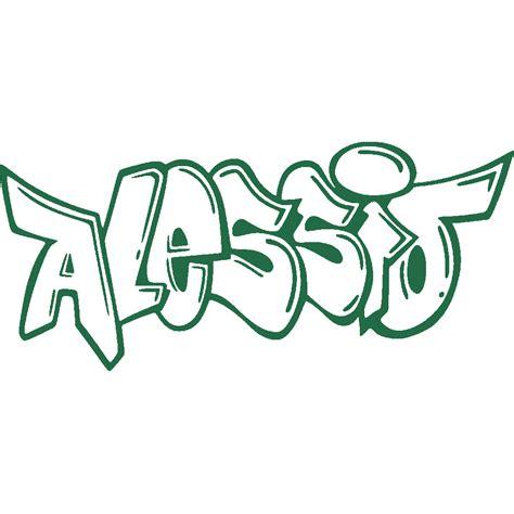 stickers stickers prenom alessio graffiti art stick