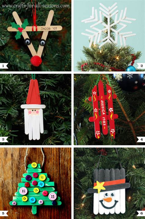 diy popsicle stick ornaments   tree topper