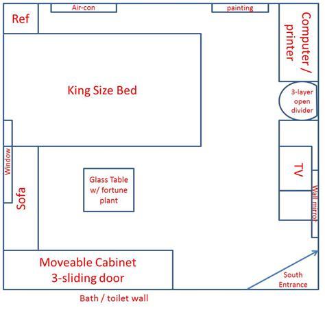 feng shui bedroom arrangement photograph  bedroom layout