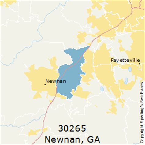 best places to live in newnan zip 30265