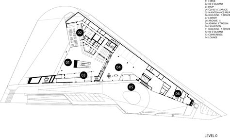porsche museum plan csu pomona architecture topic studio winter 2013