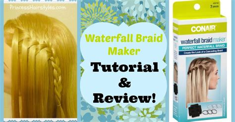 html tutorial review waterfall braid maker tutorial review hairstyles for