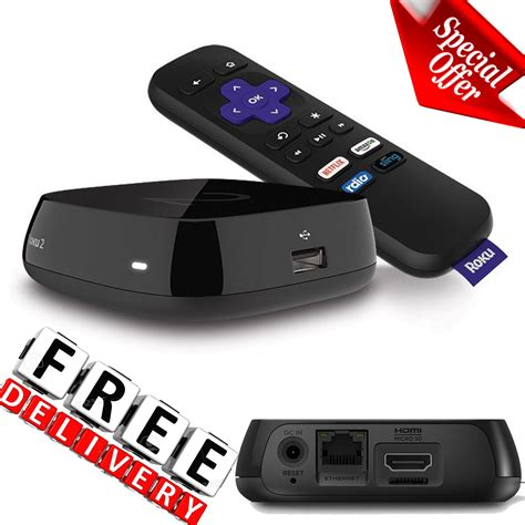 roku android media player hd remote roku 2 android app micro sd tv usb hdmi for sale holidays net