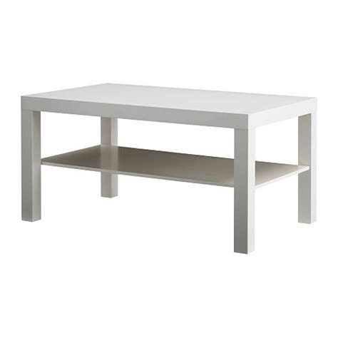Lack Coffee Table by Lack Coffee Table White 90x55 Cm