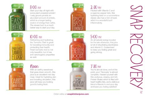 Wow Detox Juice by Snap Kitchen Juice Cleanse Order Wow