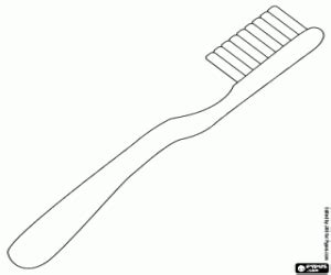 Coloring Toothbrush Toothbrush Coloringpage Soap 点力图库 Toothbrush And Soap Coloring
