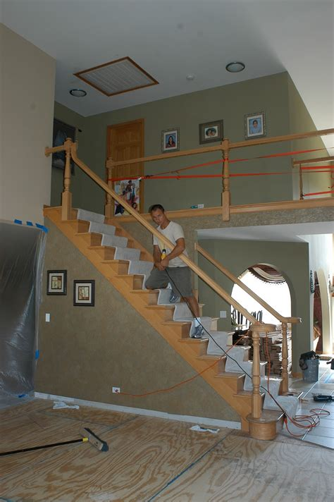 how to install banister on stairs stair railing installation unique stair railing styles