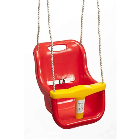 Swing Slide Climb Red Plastic Baby Swing Bunnings Warehouse