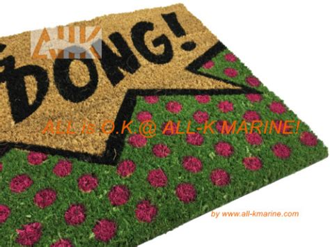 Ding Mats by Pvc Coco Mat Ding Dong All K Marine Co Ltd