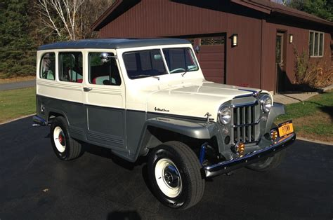 jeep station wagon gorgeous 1959 jeep willys station wagon will make you miss
