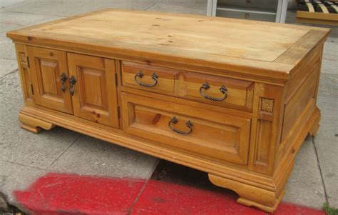 Pine Coffee Tables With Storage Uhuru Furniture Collectibles Sold Pine Coffee Table W Storage 40