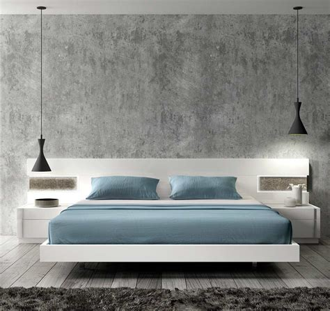 contemporary white bedroom furniture contemporary white lacquer bed sj contemporary