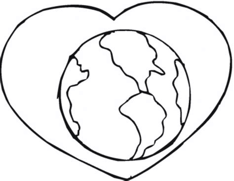heart earth coloring pages heart shaped earth coloring page coloring pages
