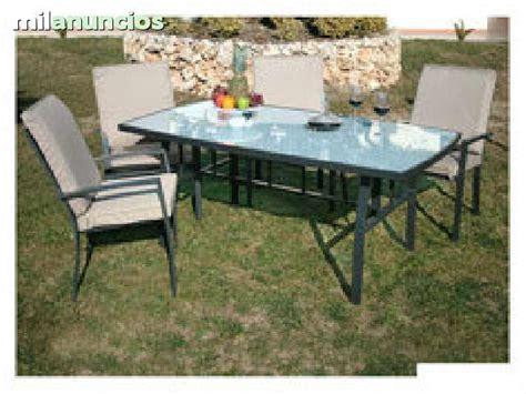 mesas de terraza y jardin mil anuncios sillas exterior y mesas jard 237 n terraza
