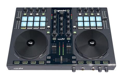 Sound Audio Controlerusb gemini g2v two channel dj usb midi controller with 24 bit pc mac audio interface gem13 g2v