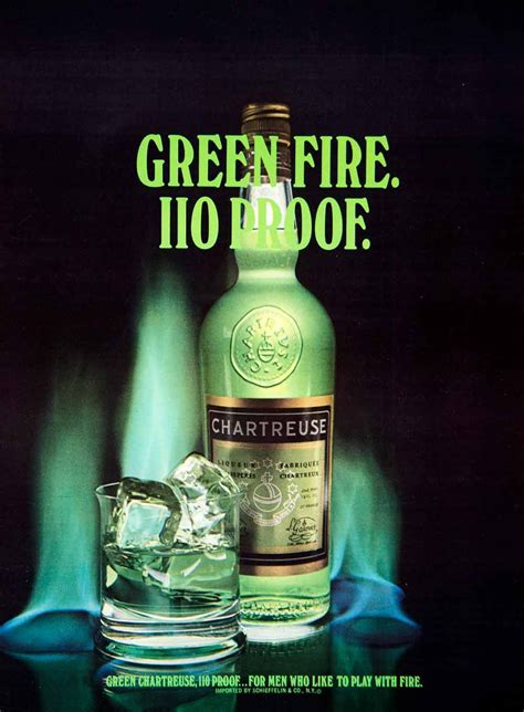 Happy Hour Green Machine Vodka by 1972 Ad Green Chartreuse Liquor Beverage