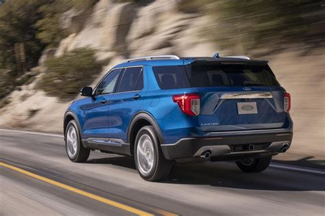 2020 ford explorer hybrid mpg 2020 ford explorer goes rear wheel drive gains serious