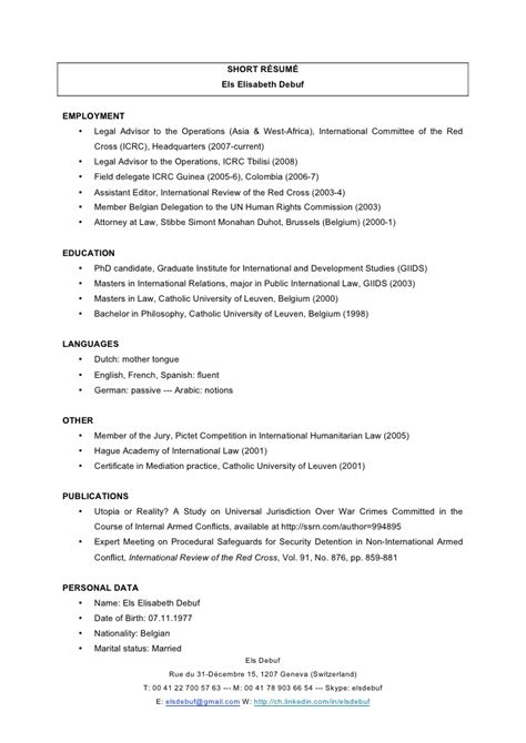 Top 10 Best Resumes by Short R 233 Sum 233 Els Debuf May 2010
