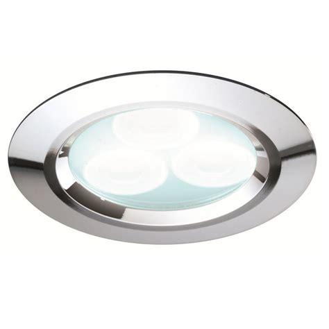 Cool Ceiling Lighting Cool White Chrome Led Recessed Ceiling Light