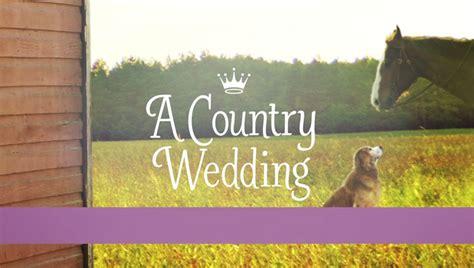 a country wedding video hallmark movie channel