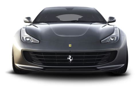 front png gtc4 lusso front gray car png image pngpix