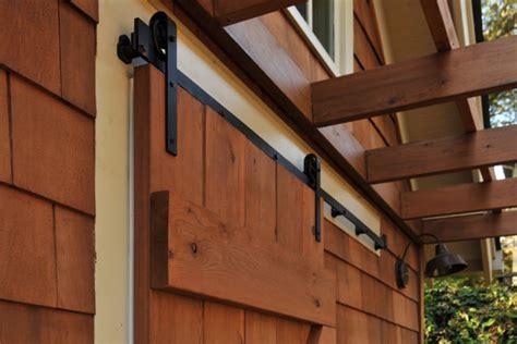 Sliding Barn Doors Sealing Exterior Doors