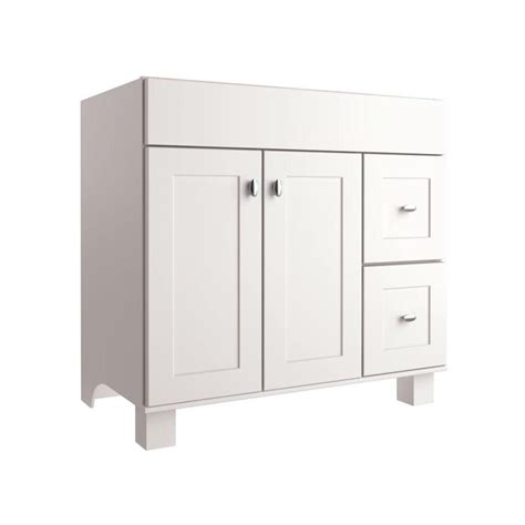 allen roth bathroom cabinets allen roth palencia white 36 in w x 21 in d white