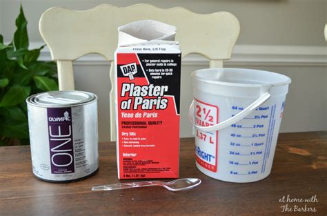 chalk paint recept chalk finish paint at home with the barkers