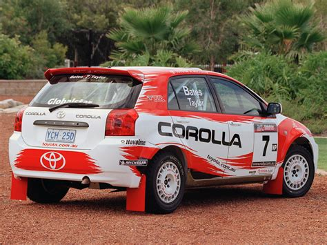 toyota rally car toyota corolla rally car 2005 07