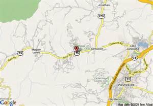map of ramada ltd maggie valley maggie valley