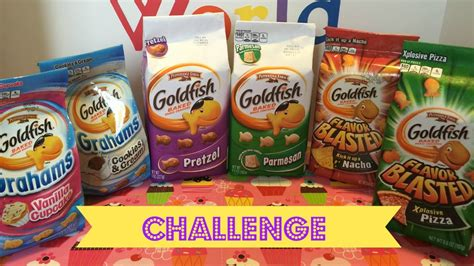 goldfish challenge family our goldfish challenge