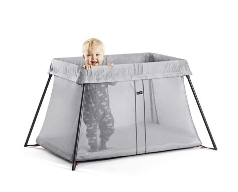 Baby Travel Cribs by Babybj 246 Rn Travel Crib Light Image