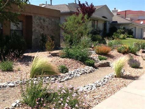 Xeriscape Landscape Architecture Lush Xeriscape Rustic Landscape Albuquerque By