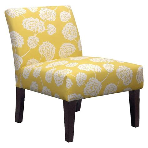 yellow patterned slipper chair pin by chelsea monk dunston on dream home pinterest