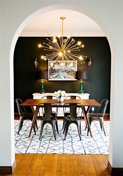 black chandelier dining room 14 modern starburst sputnik chandeliers