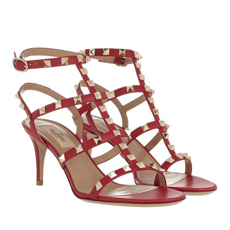 Leather Rockstud Sandals valentino schuhe sandalen rockstud sandal leather