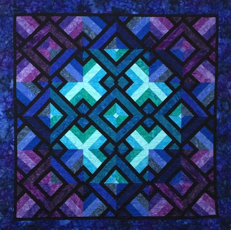 Purple Quilt by A Quilters